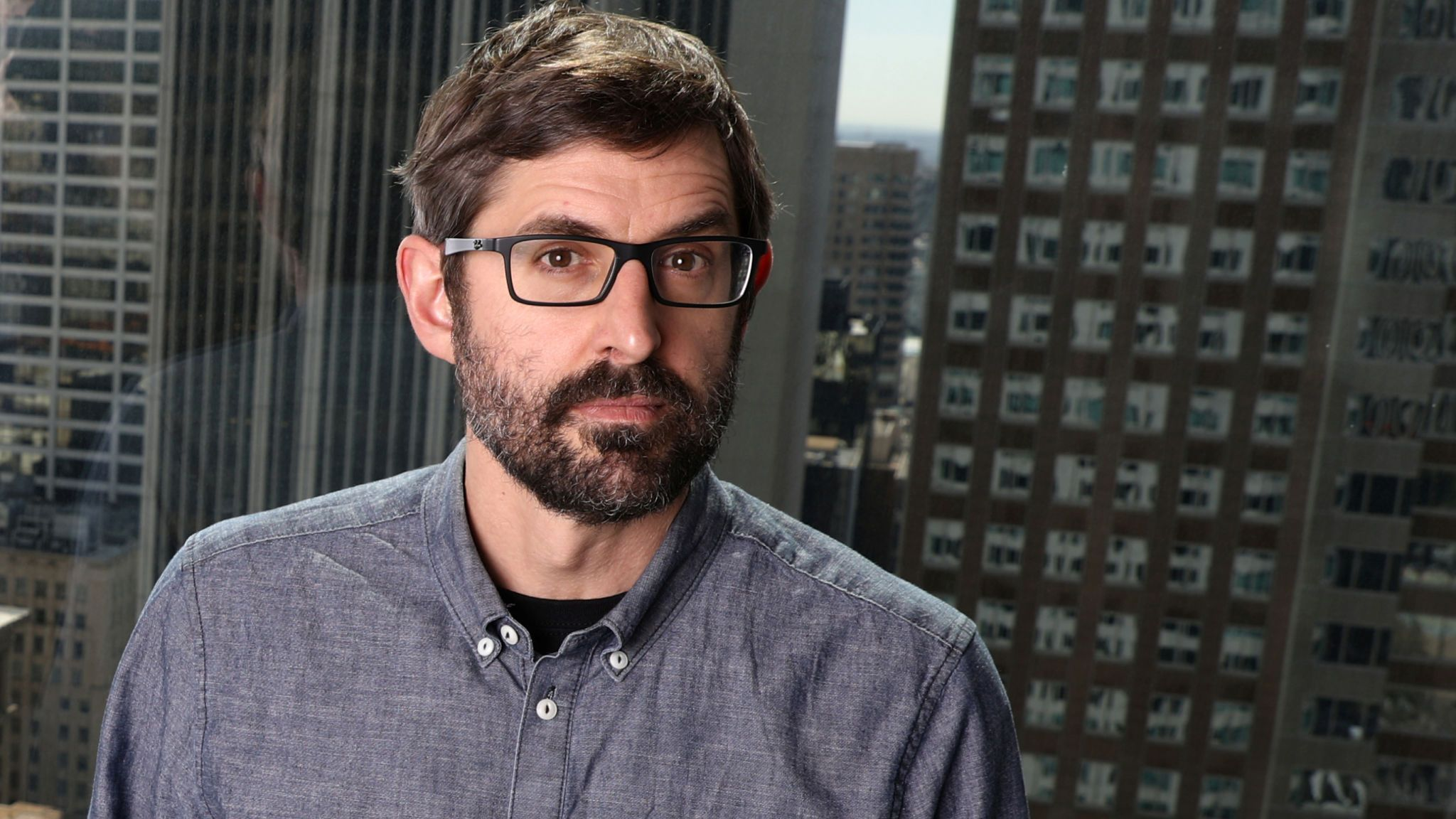 Louis Theroux, writer and star of documentary
