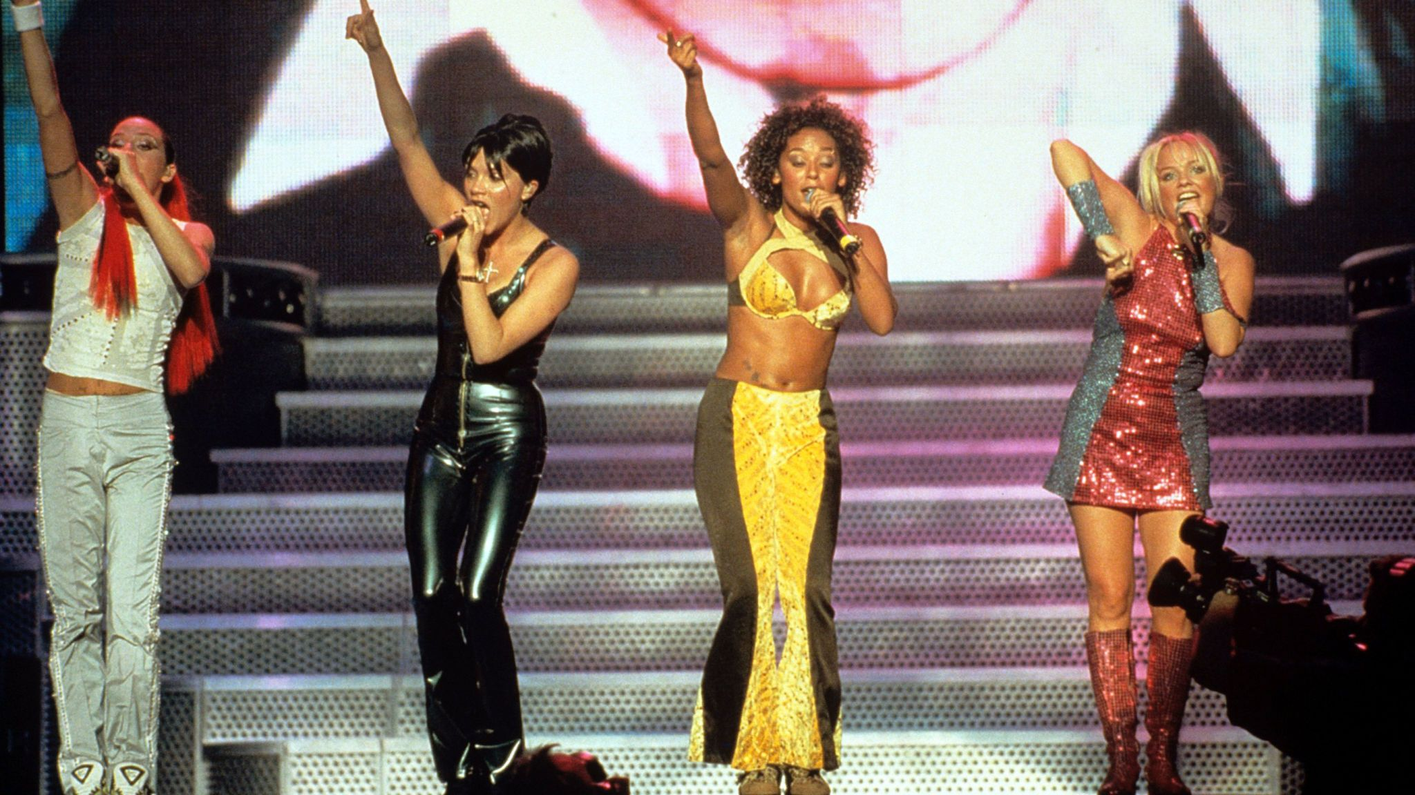 The Spice Girls continued as a foursome after Geri Halliwell's departure in 1998