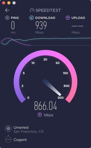 speedtest mac