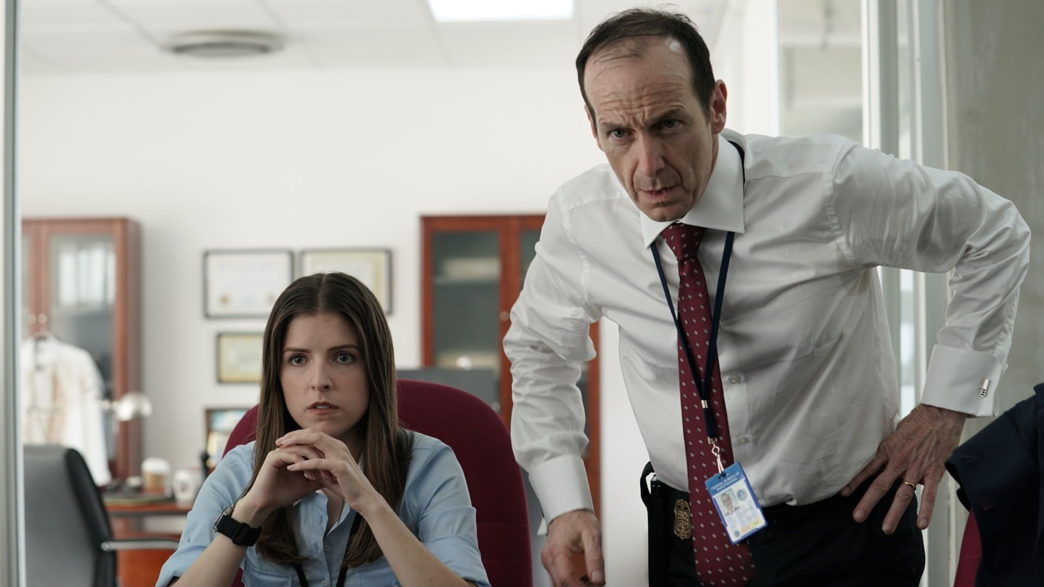 Anna Kendrick and Denis O'Hare play FBI officers trying to lure jihadi terrorists into the open