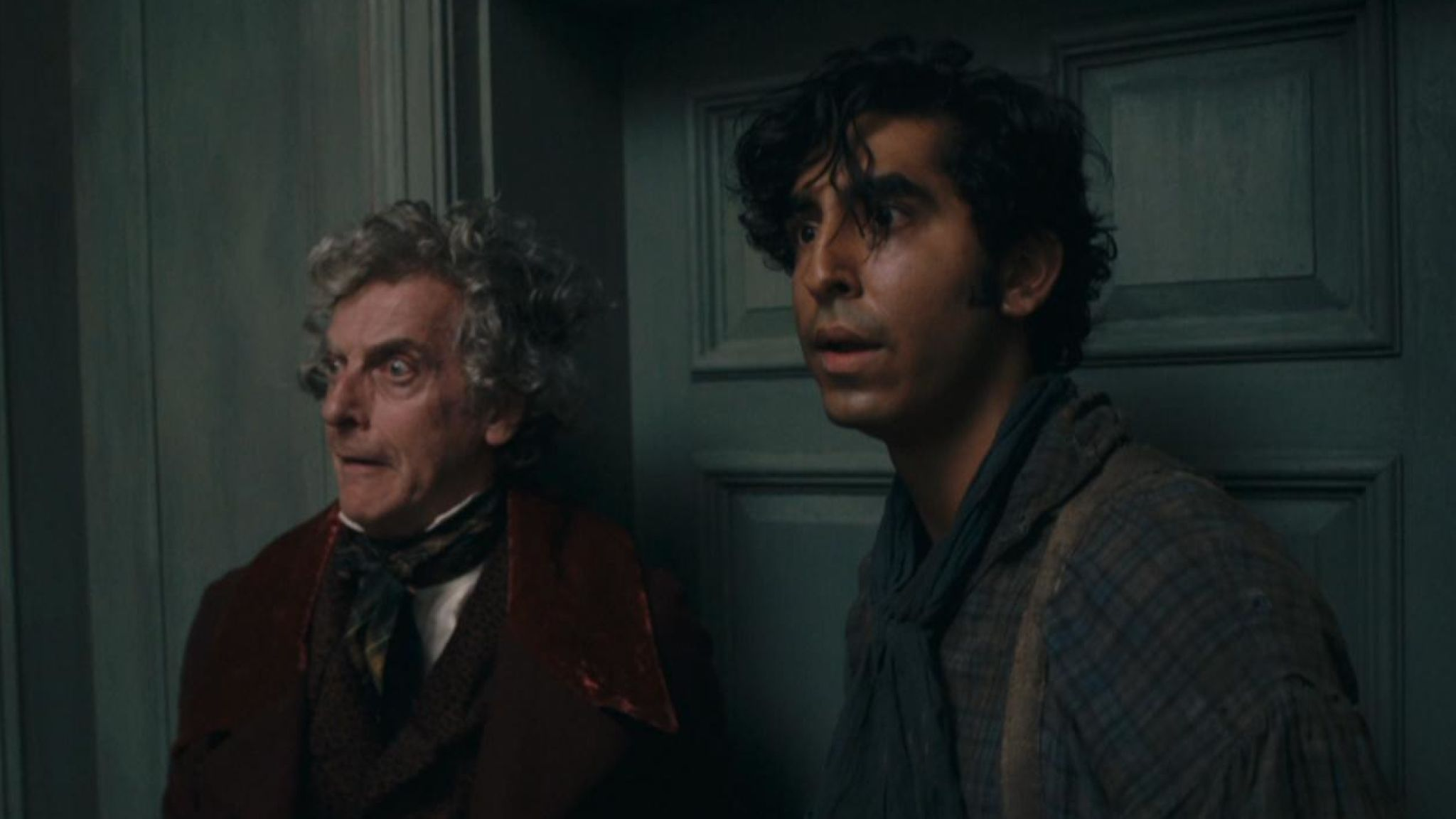 Peter Capaldi, left, and Dev Capaldi, right, star in the film