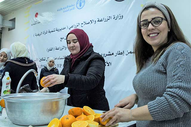 Empowered Syrian women are paying it forward