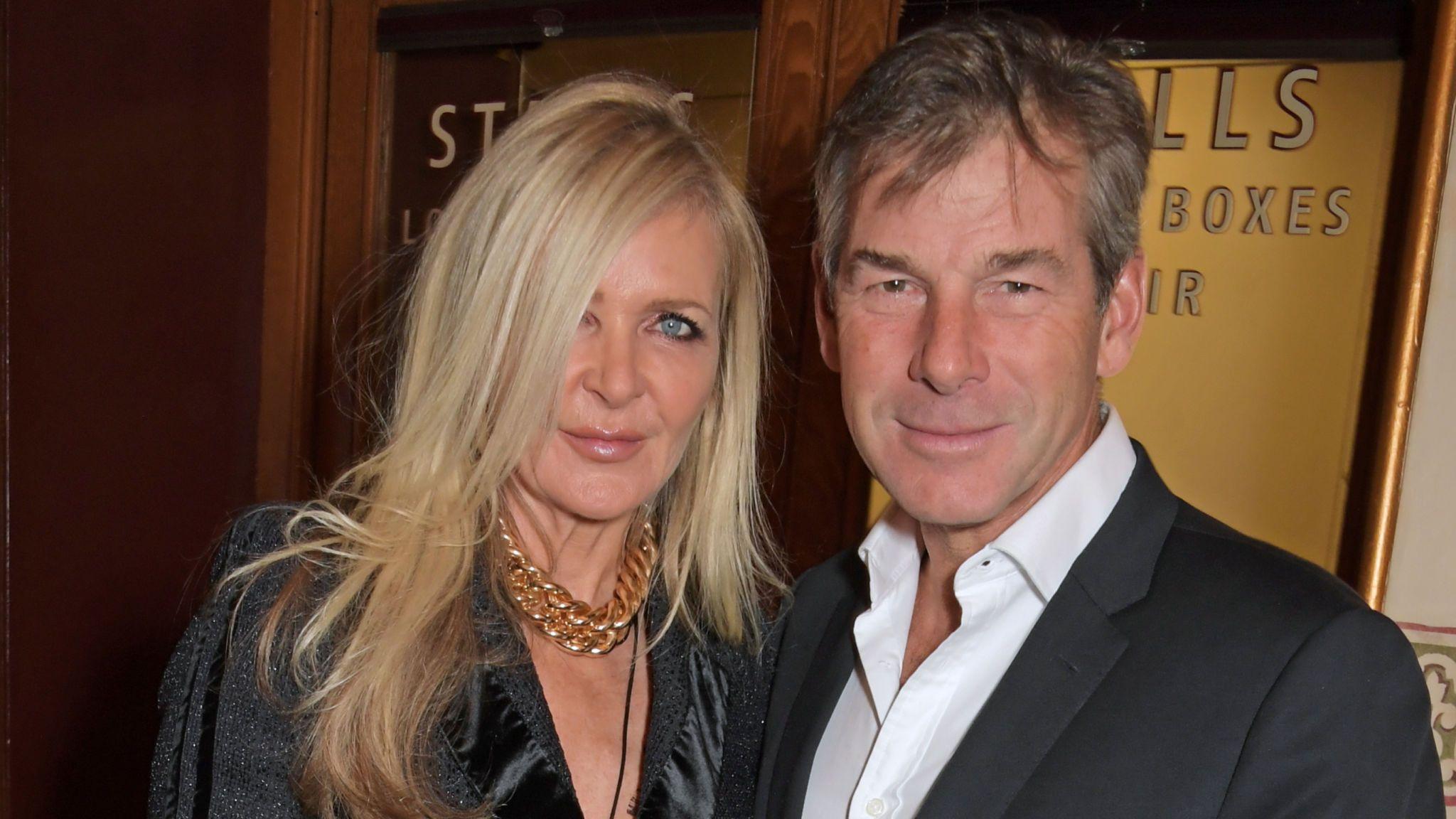Fashion designer Amanda Wakeley and her partner Hugh Morrison