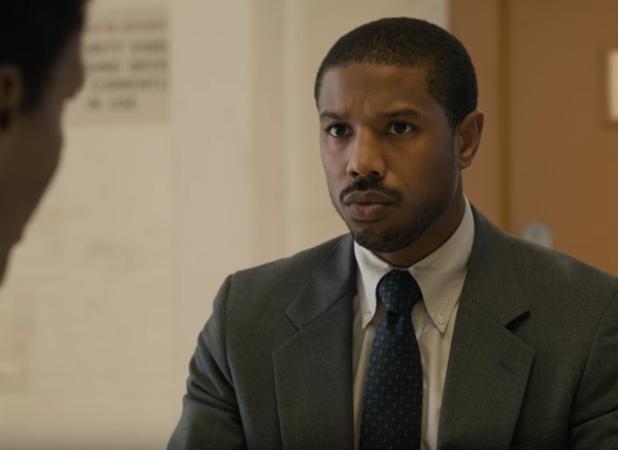 Michael B. Jordan Defends Jamie Foxx in New Just Mercy Trailer