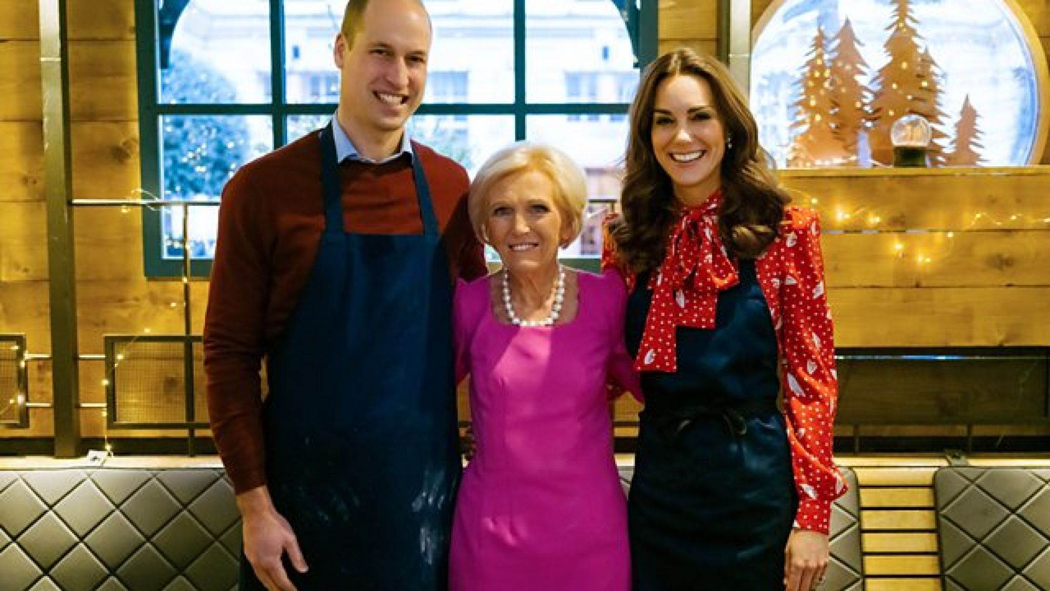 The royal couple appear on Mary Berry's new show. Pic: BBC