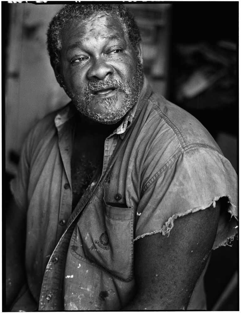 Purvis Young Photo by: David A. Raccuglia — Courtesy