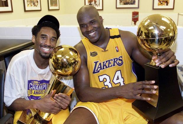 BKN-PACERS-LAKERS-BRYANT-O'NEAL TROPHY