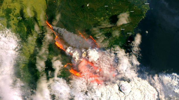 Australia fires: Pictures from the deadly wildfires