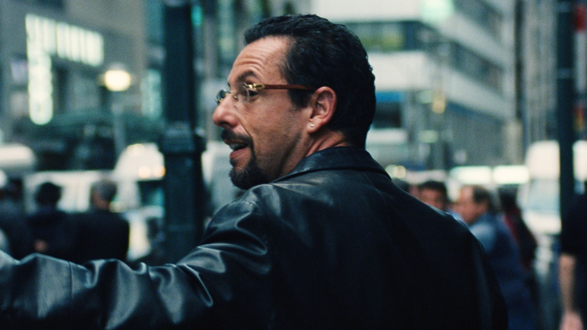Adam Sandler is perhaps better known for his comedy roles. Pic: Netflix