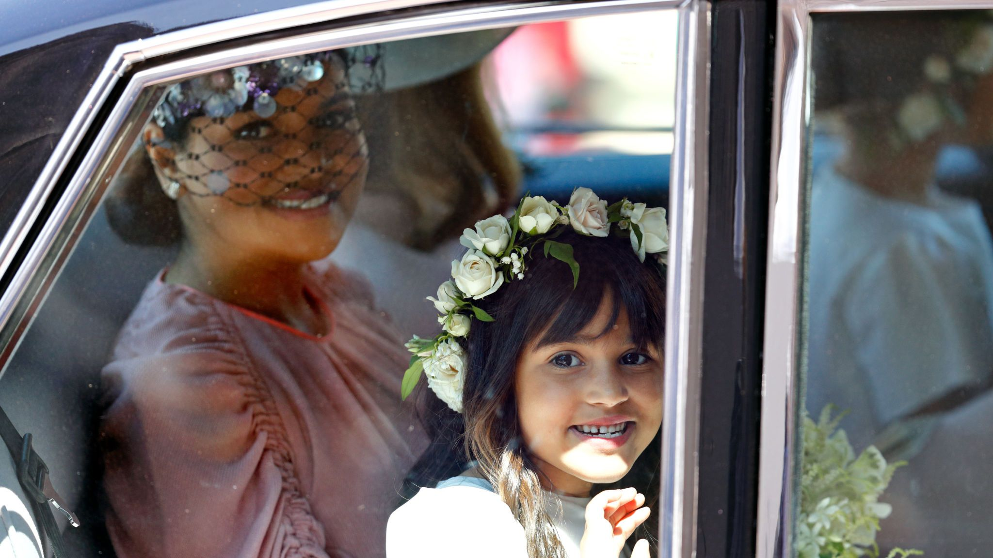 Benita Litt and Remi Litt attend the wedding of Prince Harry to Ms Meghan Markle at St George's Chapel, Windsor Castle on May 19, 2018 in Windsor, England. Prince Henry Charles Albert David of Wales marries Ms. Meghan Markle in a service at St George's Chapel inside the grounds of Windsor Castle. Among the guests were 2200 members of the public, the royal family and Ms. Markle's Mother Doria Ragland