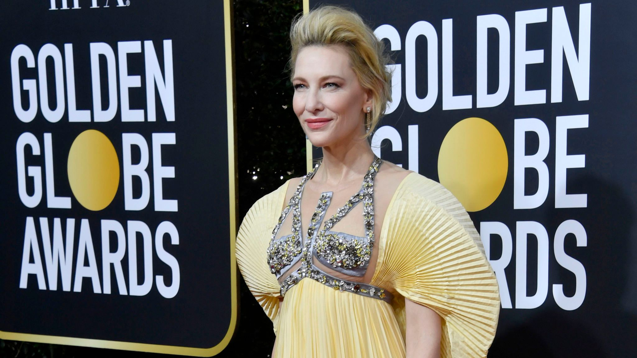 Cate Blanchett at the Golden Globes 2020