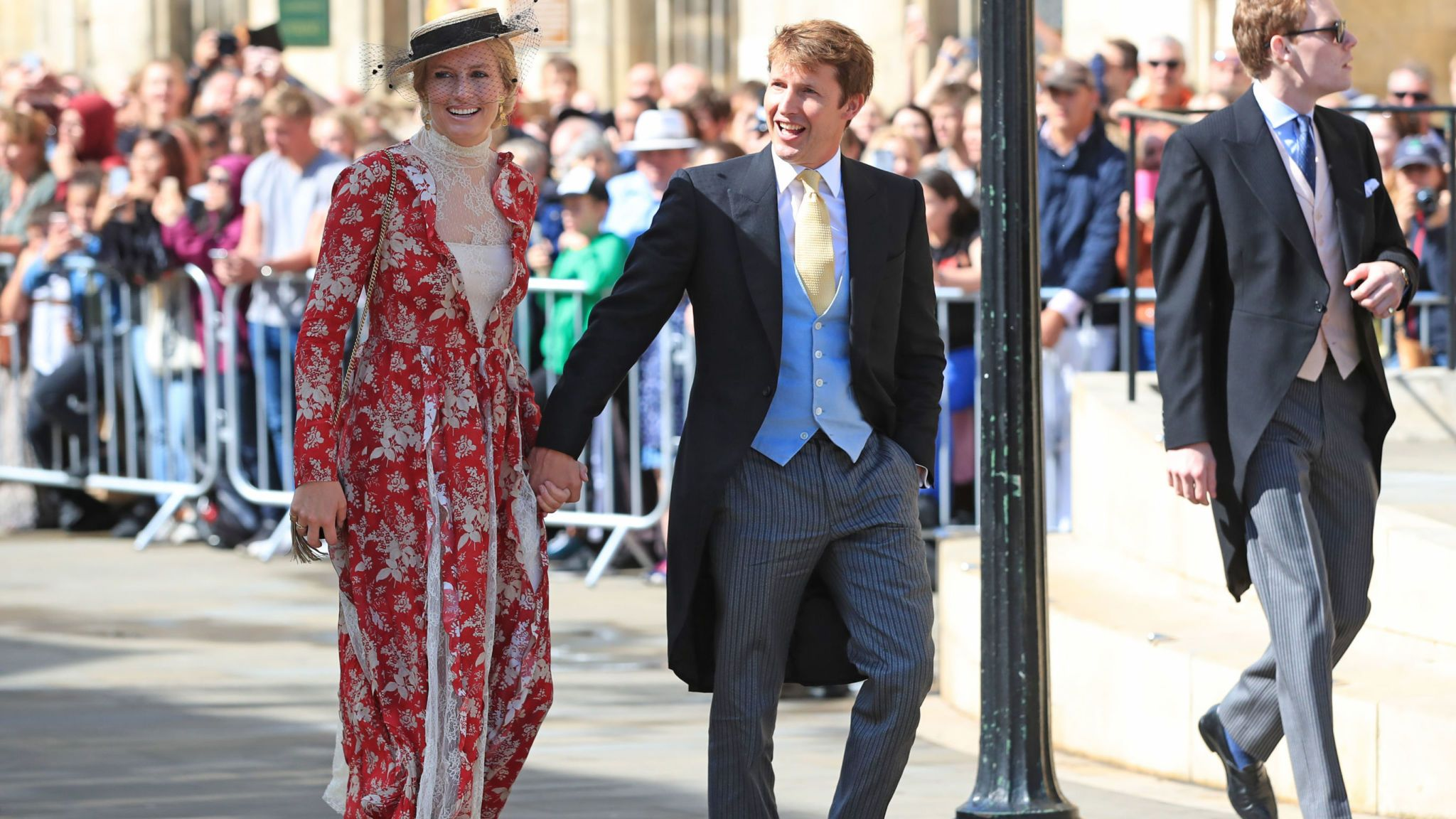 James Blunt and his wife Sofia Wellesley