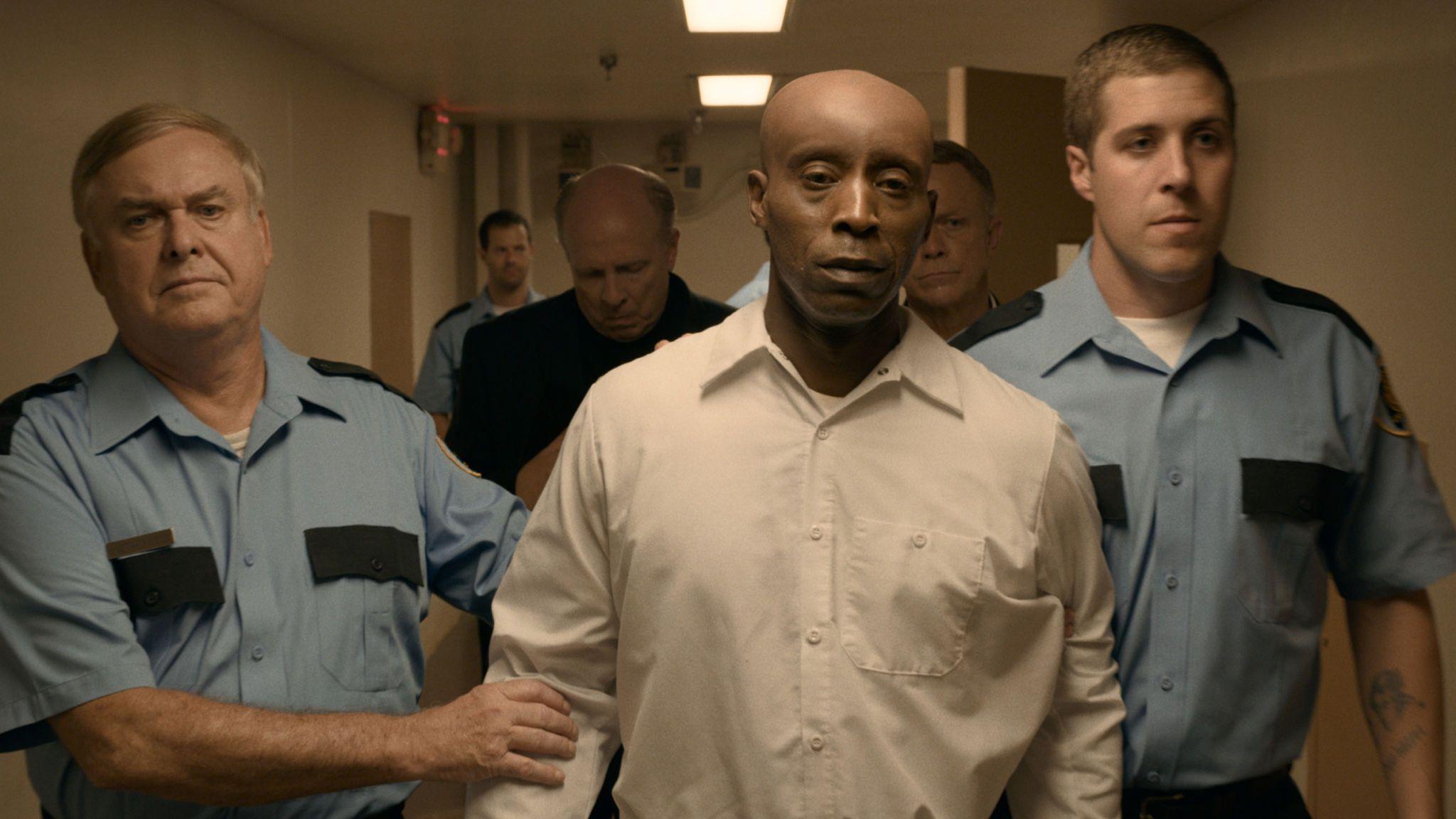 Rob Morgan as Herbert Richardson in Just Mercy. Pic: Warner Bros Entertainment Inc