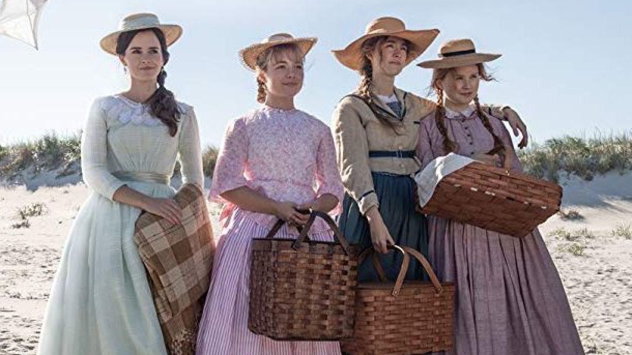 Emma Watson, Florence Pugh, Saoirse Ronan and Eliza Scanlen in Greta Gerwig's Little Women