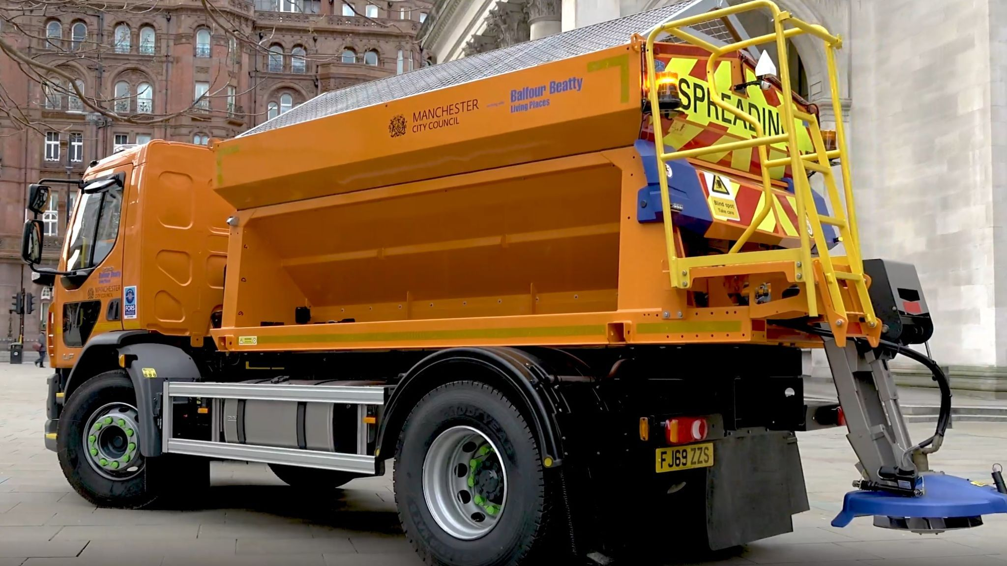 Residents will be able to 'Ask Alexa' if the gritters have been in their area