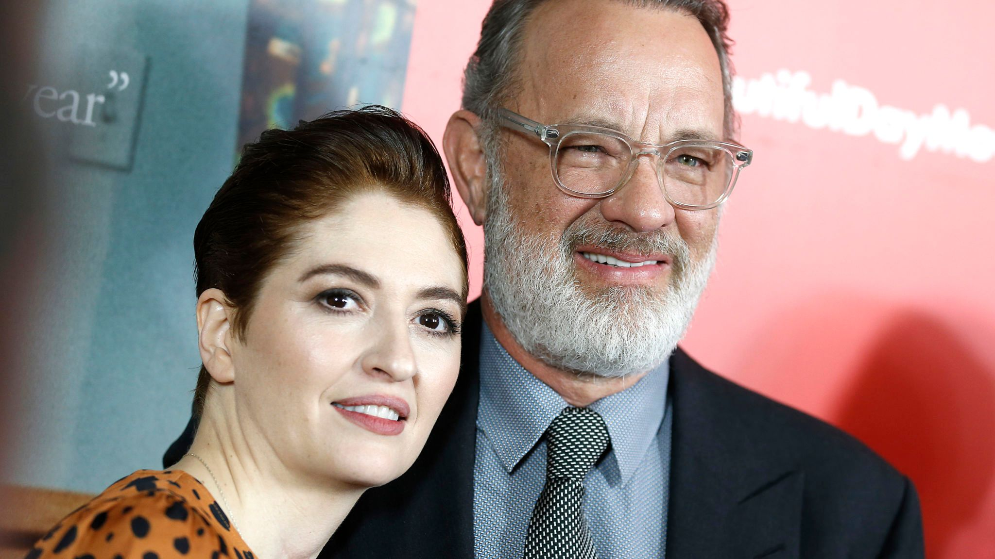 A Beautiful Day In The Neighborhood director Marielle Heller and star Tom Hanks