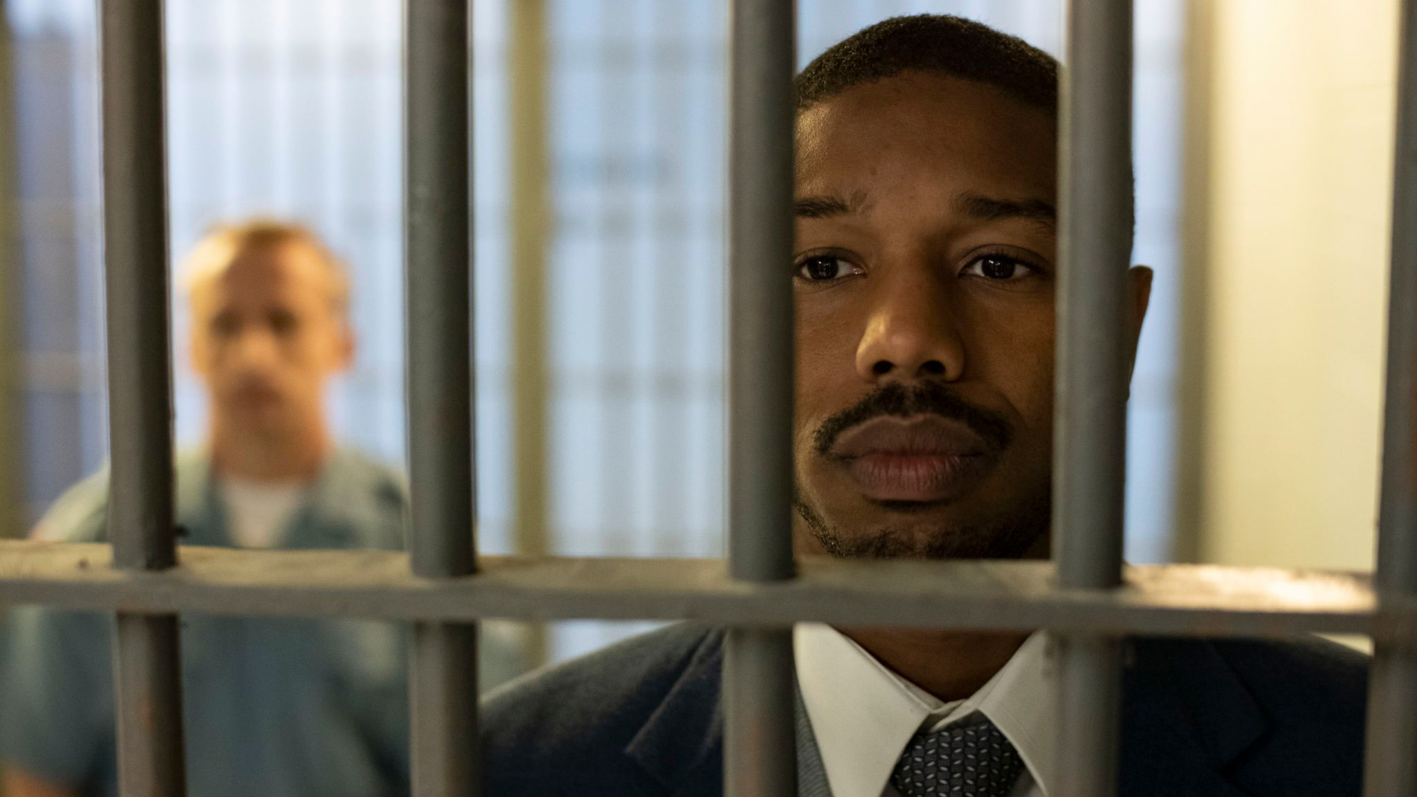 Michael B Jordan plays Bryan Stevenson in Just Mercy. Pic: Warner Bros Entertainment Inc