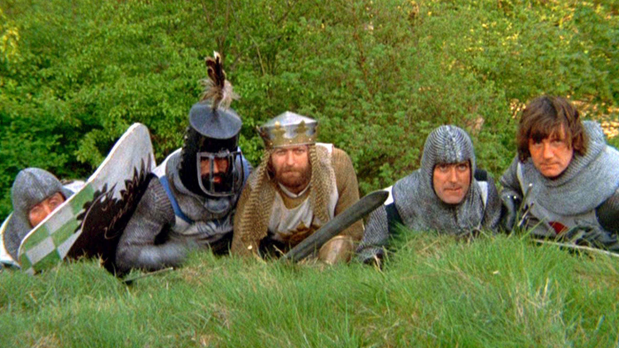Monty Python & The Holy Grail - 1974 Eric Idle, Terry Jones, Graham Chapman, John Cleese, Michael Palin