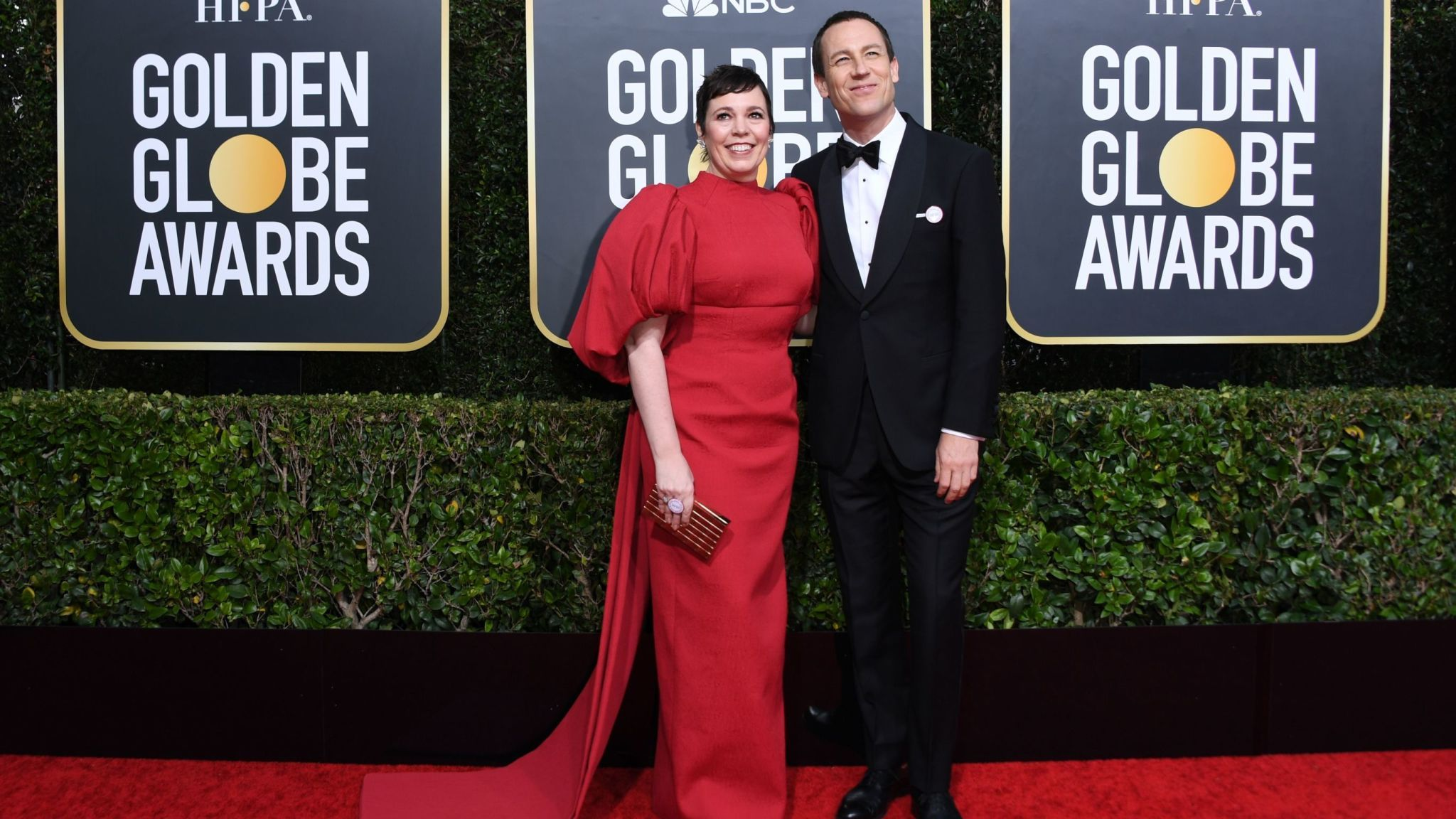 Golden Globes 2020 - Olivia Colman and Tobias Menzies