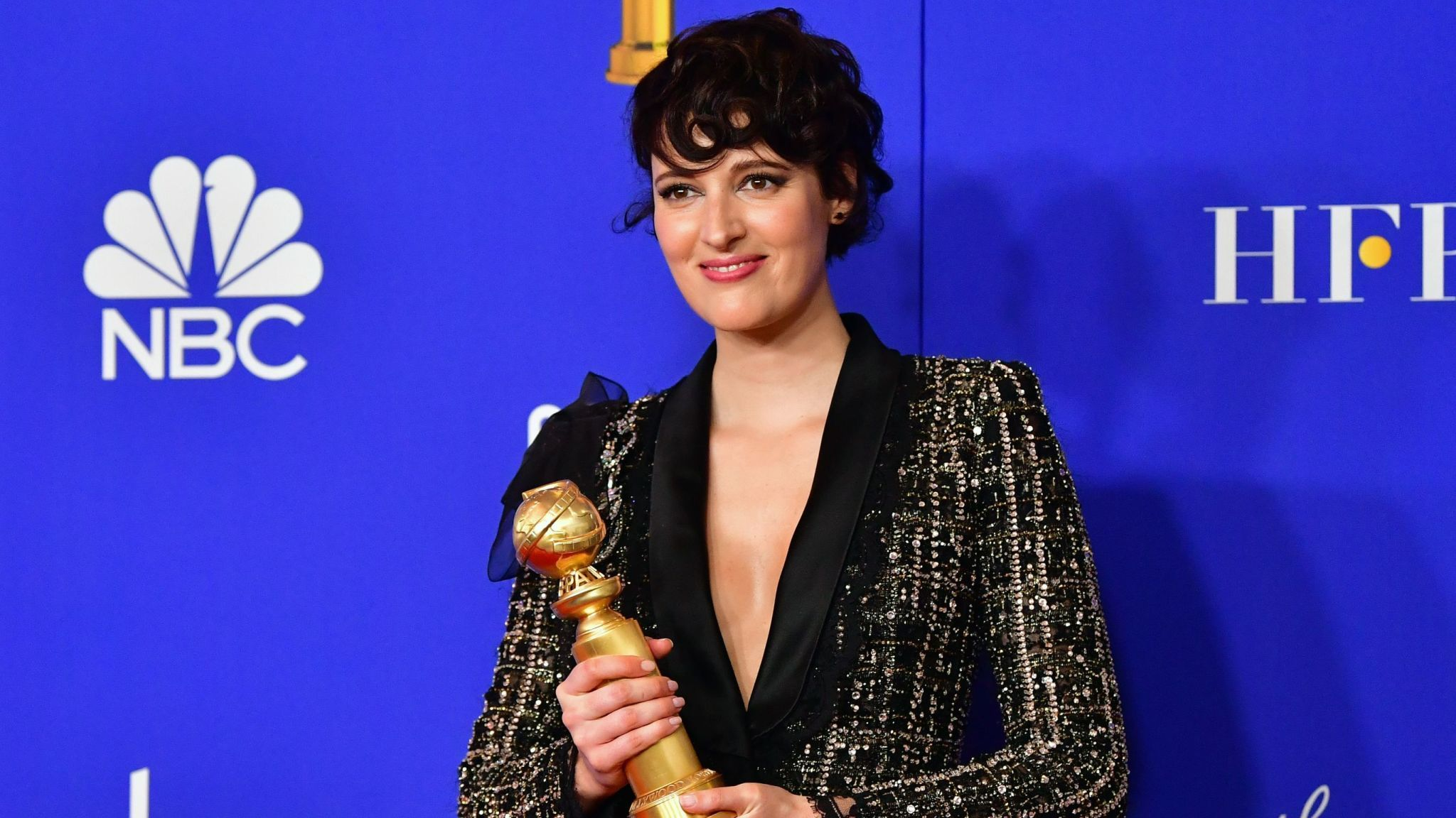 Golden Globes winner Phoebe Waller-Bridge on stage