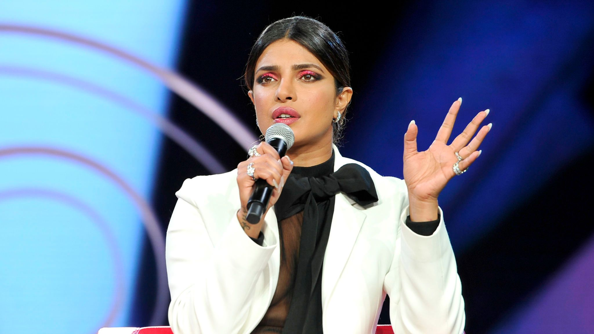 LOS ANGELES, CALIFORNIA - AUGUST 10: Priyanka Chopra attends Beautycon Festival Los Angeles 2019 at Los Angeles Convention Center on August 10, 2019 in Los Angeles, California