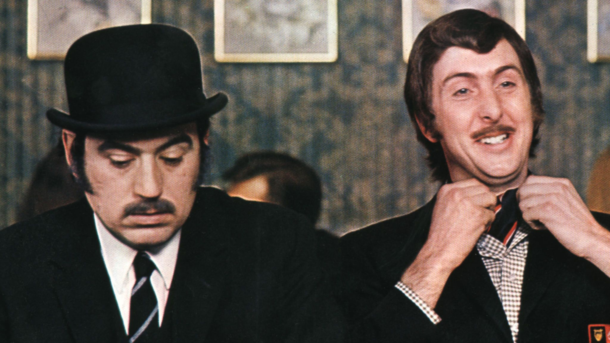 Terry Jones and Eric Idle in 1971