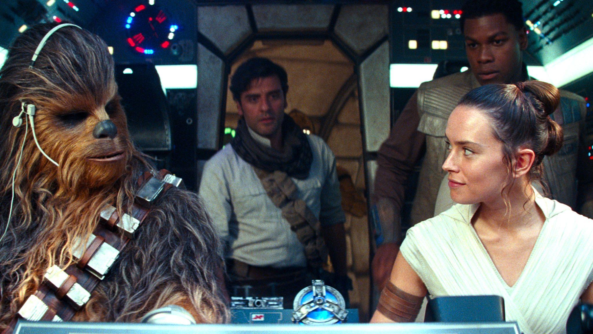 Star Wars: The Rise Of Skywalker is the final film in the Skywalker saga. Pic. Walt Disney