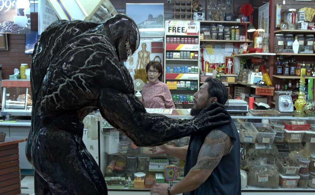 Tom Hardy is back as Venom in a sequel arriving later this fall. MUST CREDIT: Sony