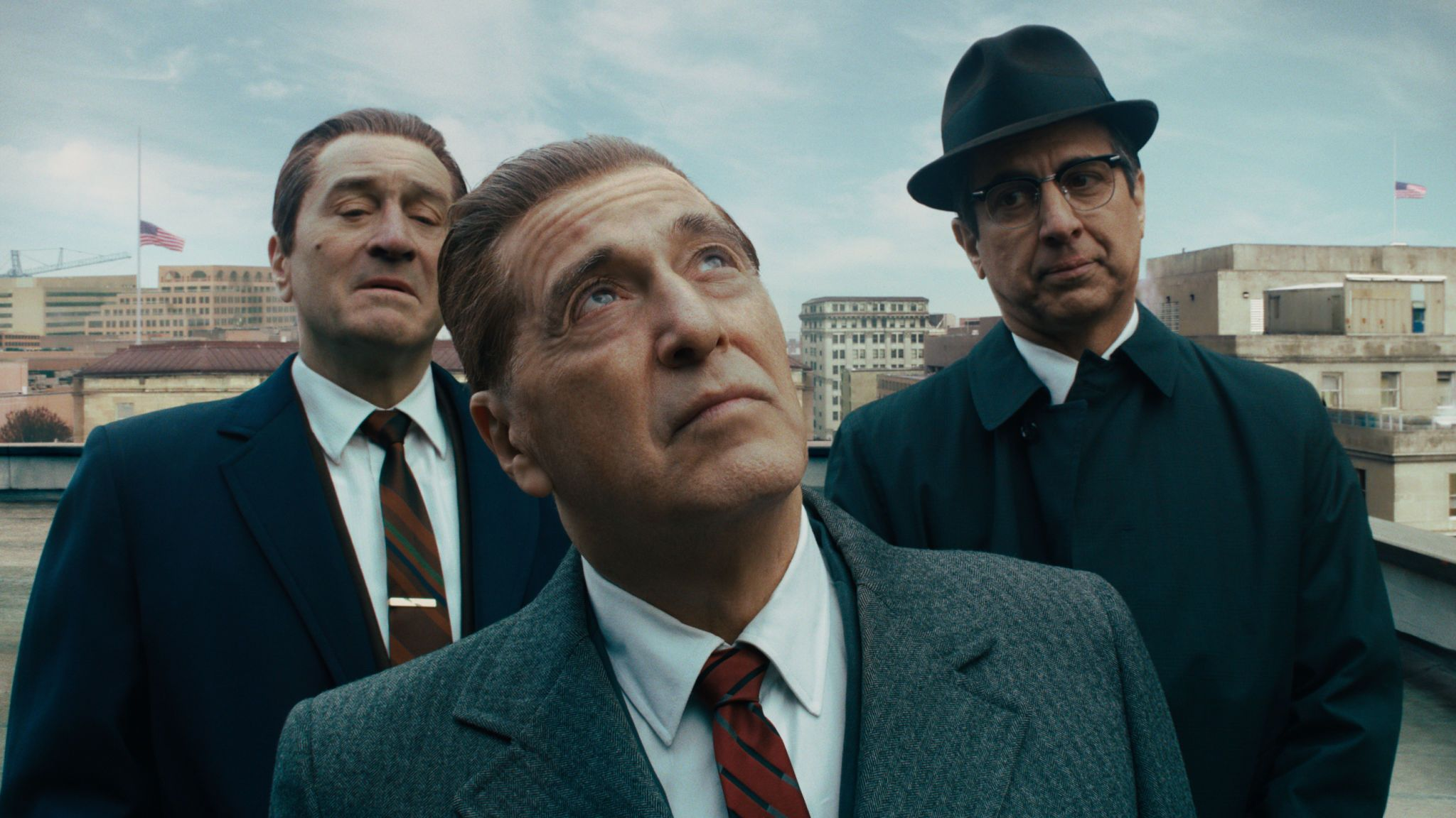 Al Pacino and Robert De Niro in The Irishman. Pic: Netflix