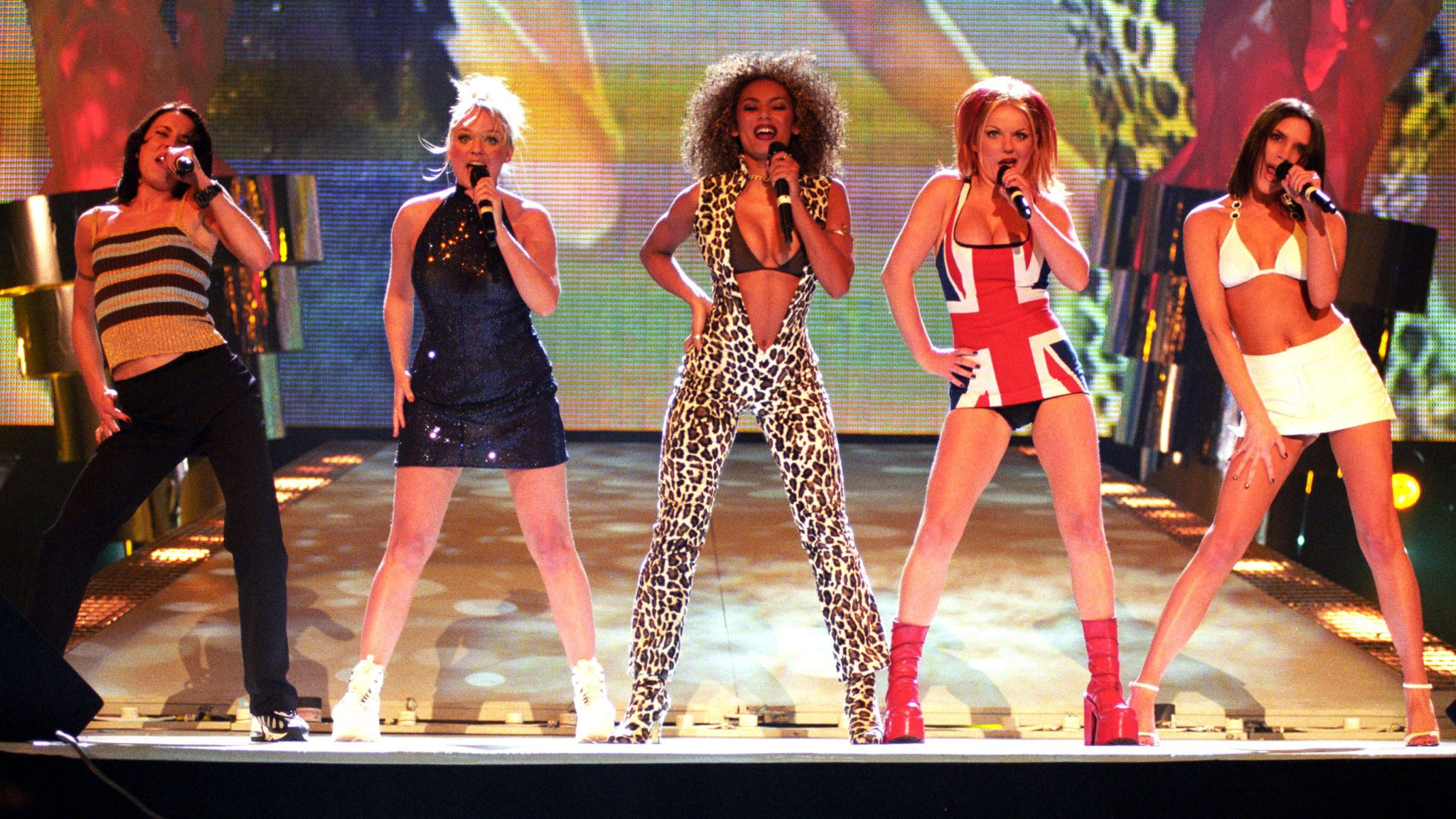 The Spice Girls in 1997. Pic: Alan Davidson/Shutterstock