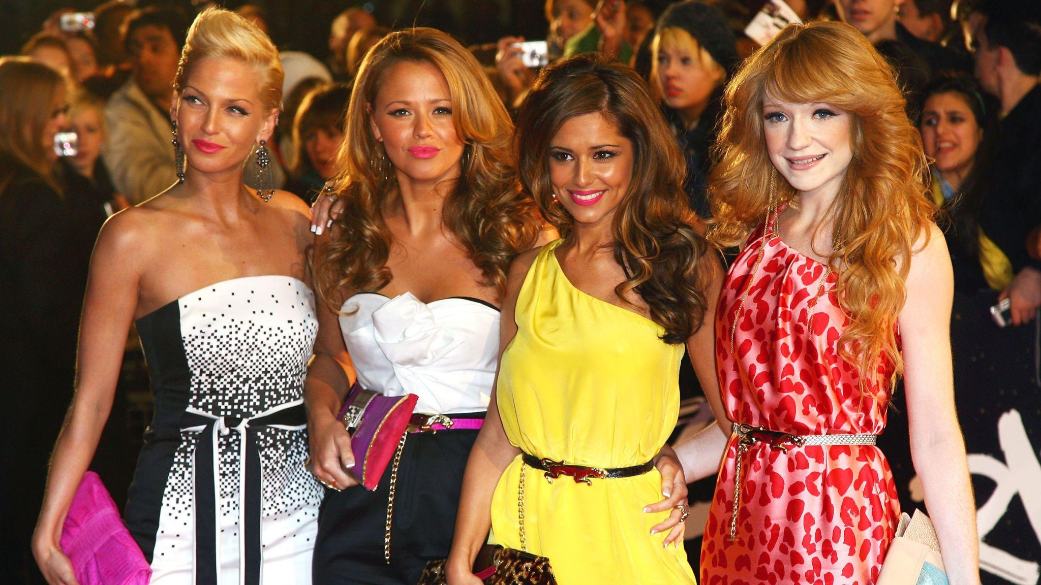 Girls Aloud in 2008