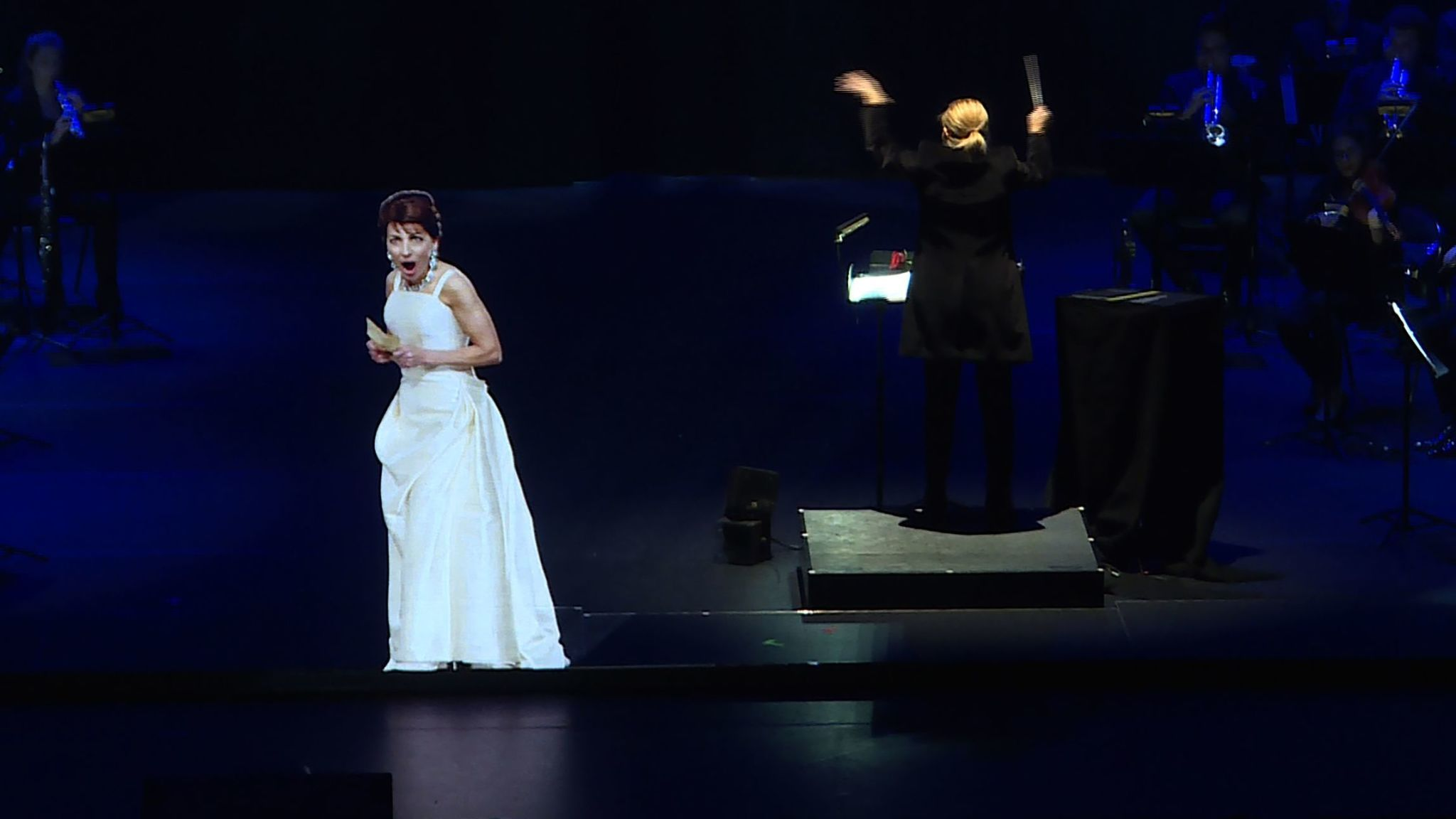 Opera singer Maria Callas went on tour in 2018, 41 years after her death