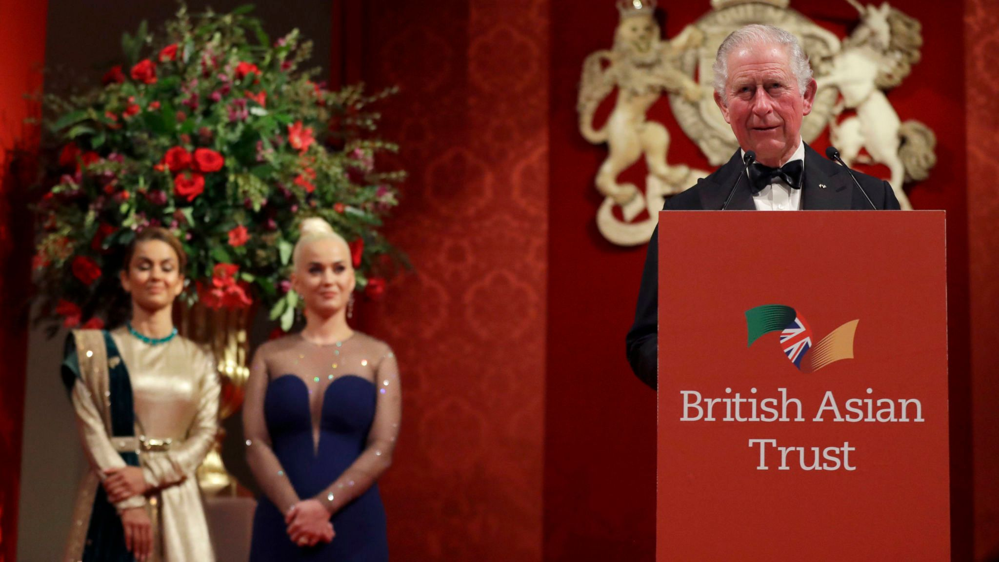 Prince Charles made Katy Perry an ambassador of his British Asian Trust which is helping to stop child trafficking