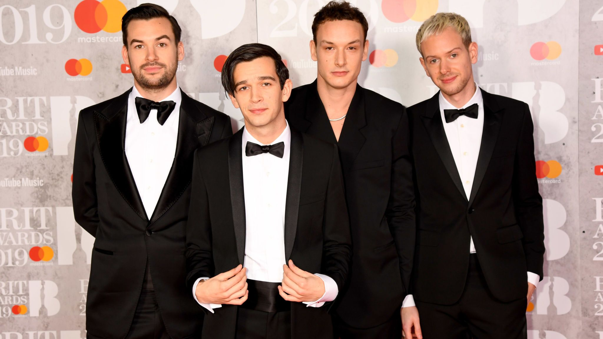 (From left) Ross MacDonald, Matthew Healy, George Daniel and Adam Hann of The 1975 are about to embark on a world tour