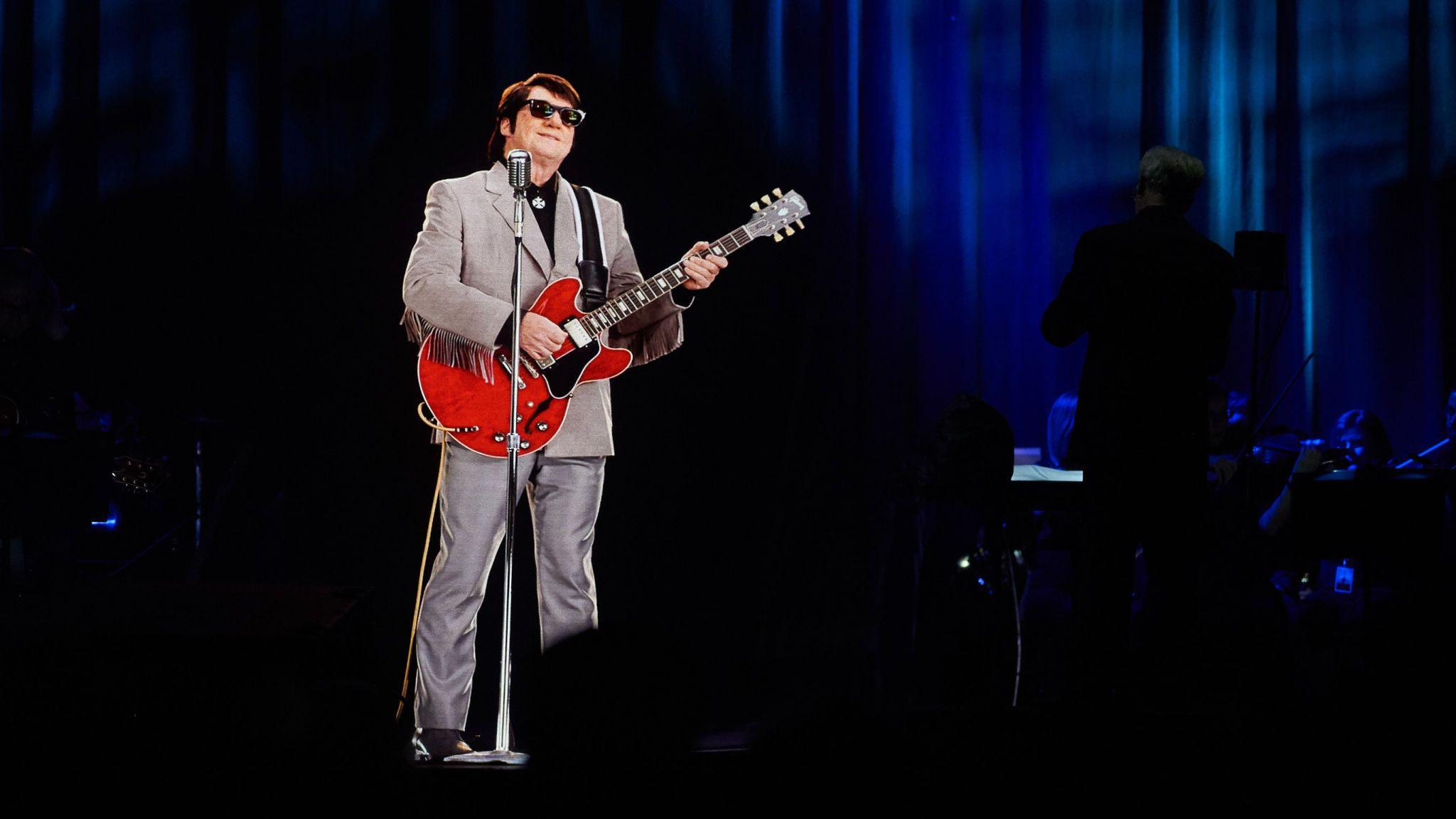 Roy Orbison's hologram went on tour in 2018