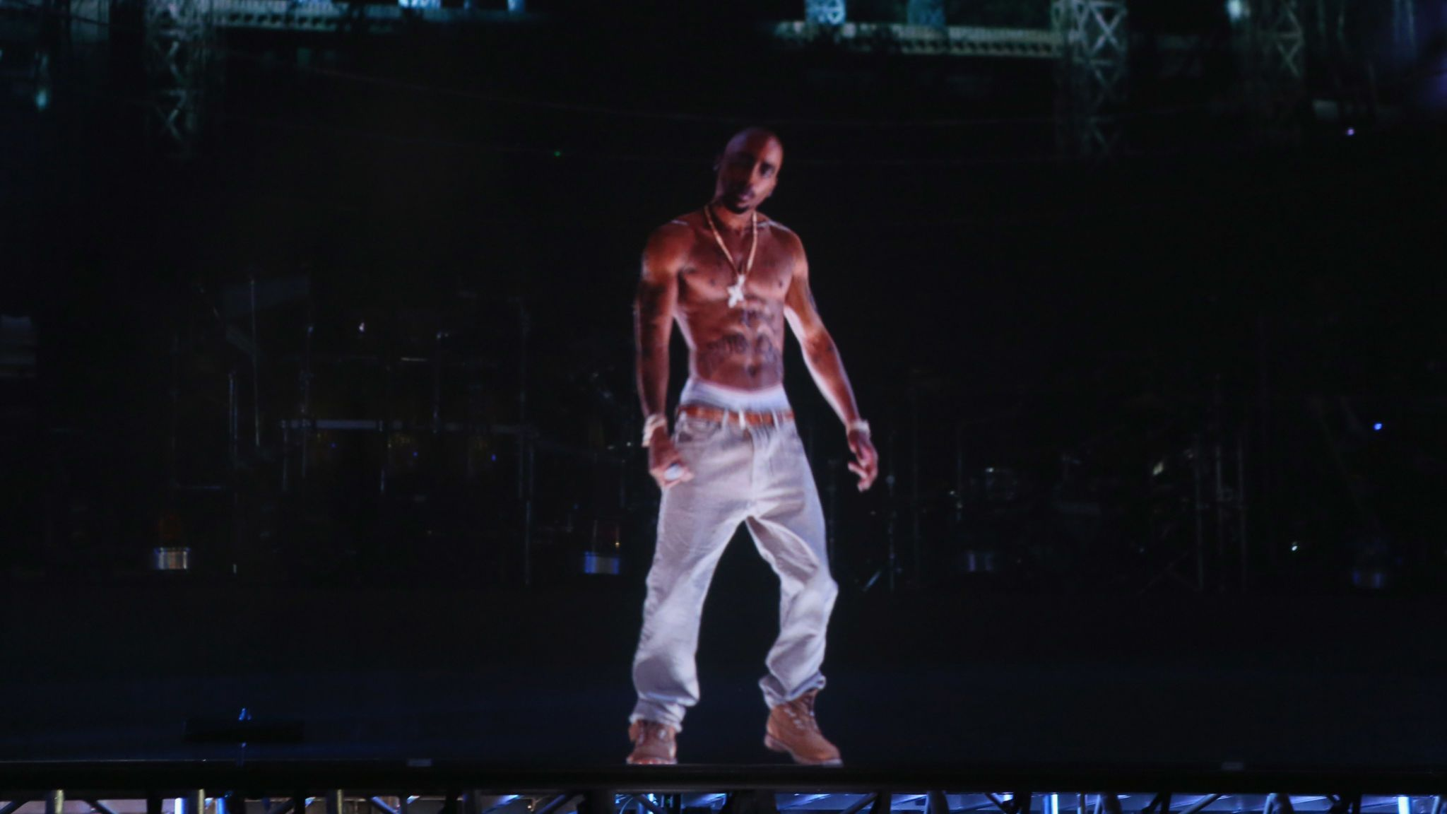 Tupac performed at Coachella as a hologram in 2012