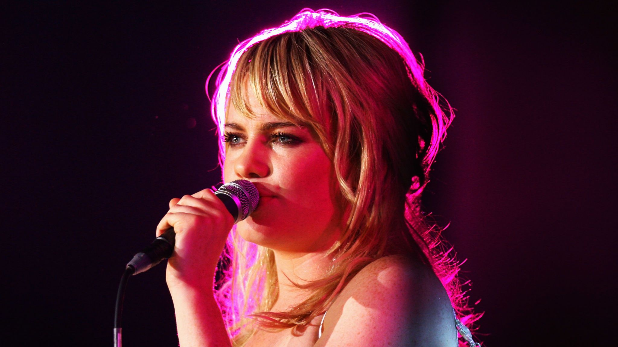 Duffy performs at Radio 1's Big Weekend in May 2008