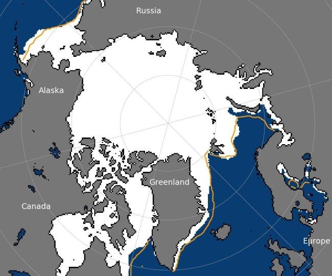 Arctic Sea Maximum Extent