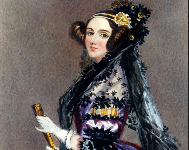 Ada Lovelace Painting - Public Domain