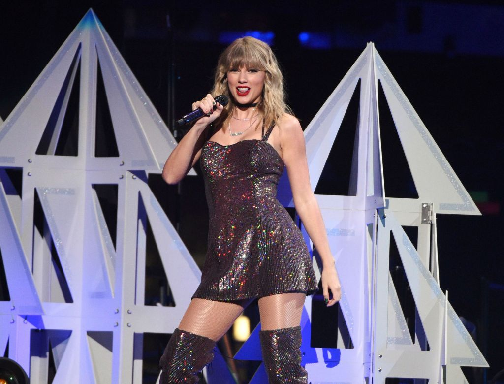 Taylor Swift performs on her 30th birthday at Z100's iHeartRadio Jingle Ball 2019 at Madison Square Garden, in New York2019 Jingle Ball - Show, New York, USA - 13 Dec 2019