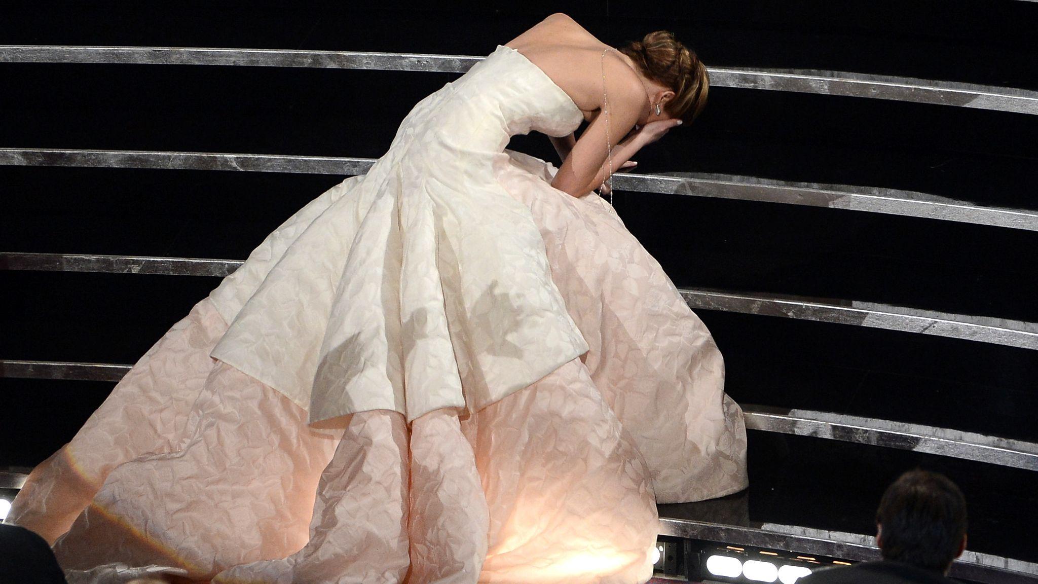 Jennifer Lawrence finds a novel way to amp up the Oscars attention