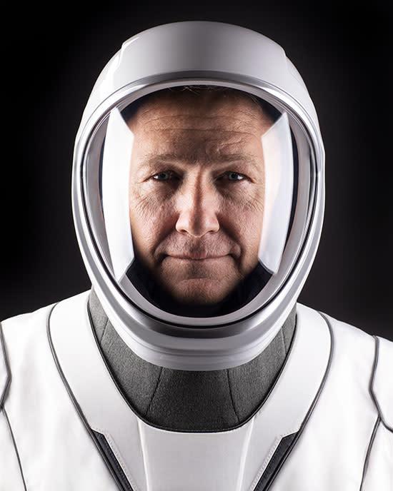 Douglas (Doug) Hurley, ready for orbital action. (Credit: NASA)
