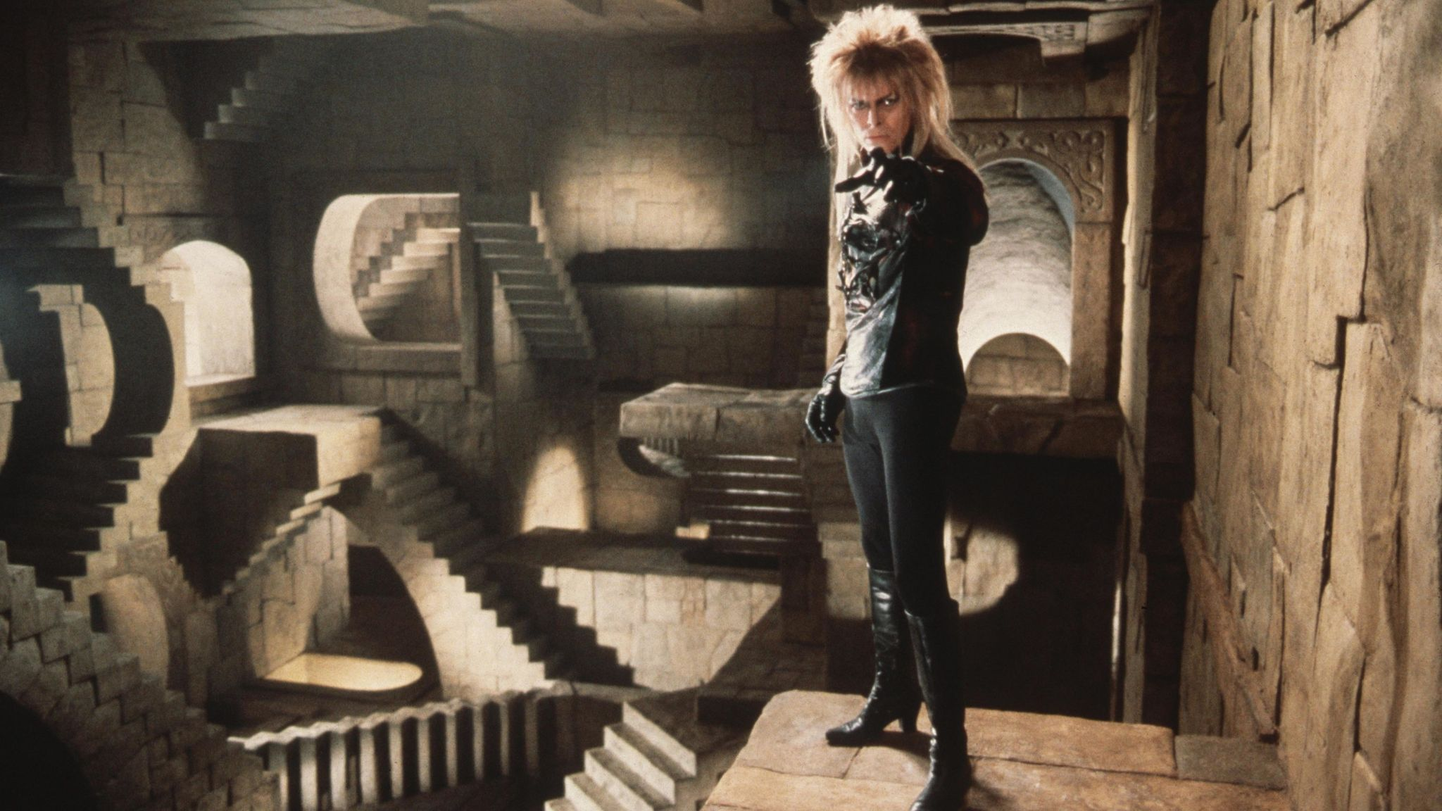 David Bowie. Pic: Jim Henson Productions/Kobal/Shutterstock