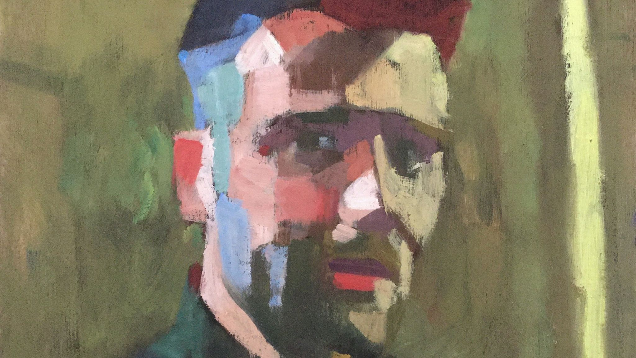 Darren Neeld by James Bland for the NHS Heroes virtual exhibition