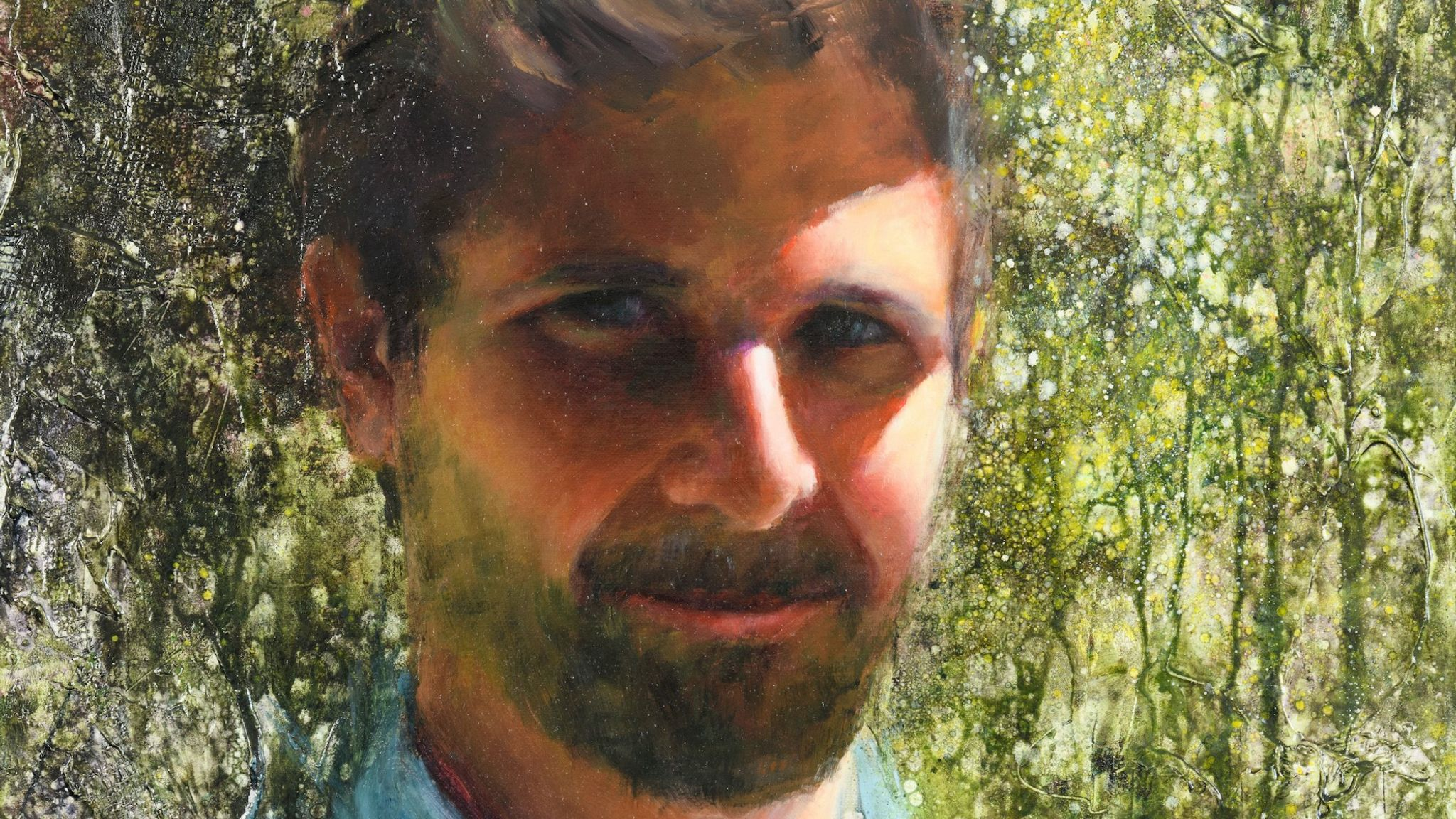 Dr Alex Ward by Clive Bryant, for the NHS Heroes virtual exhibition