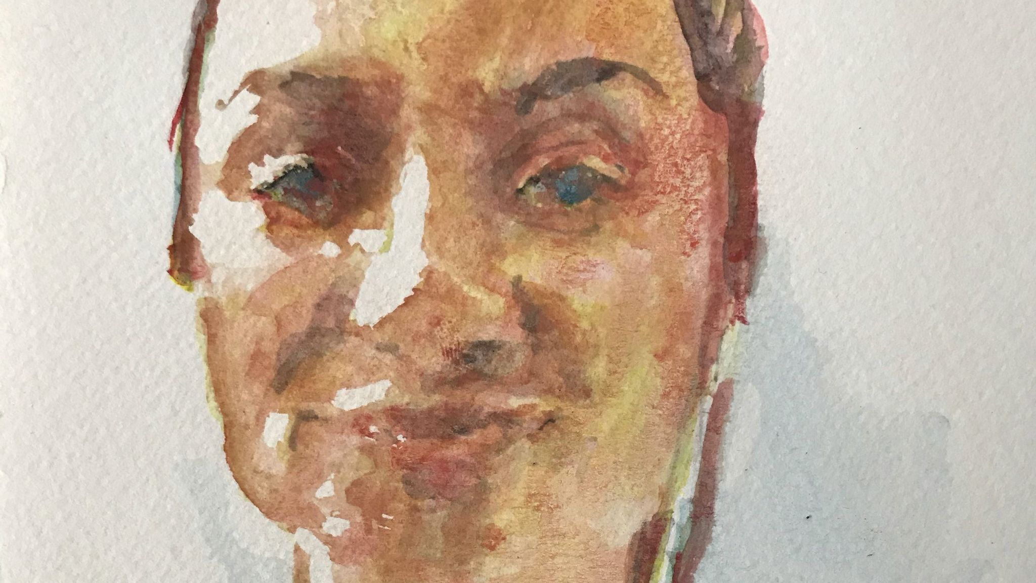 Scarlett Brannigan by James Crowther, for the NHS Heroes virtual art exhibition
