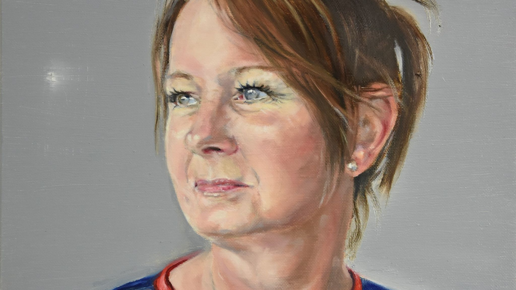 Sharon Stone by Peter Monkman, for the NHS Heroes virtual exhibition