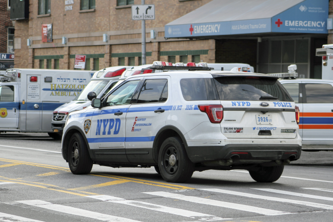 NYPD Vehicle - Shutterstock