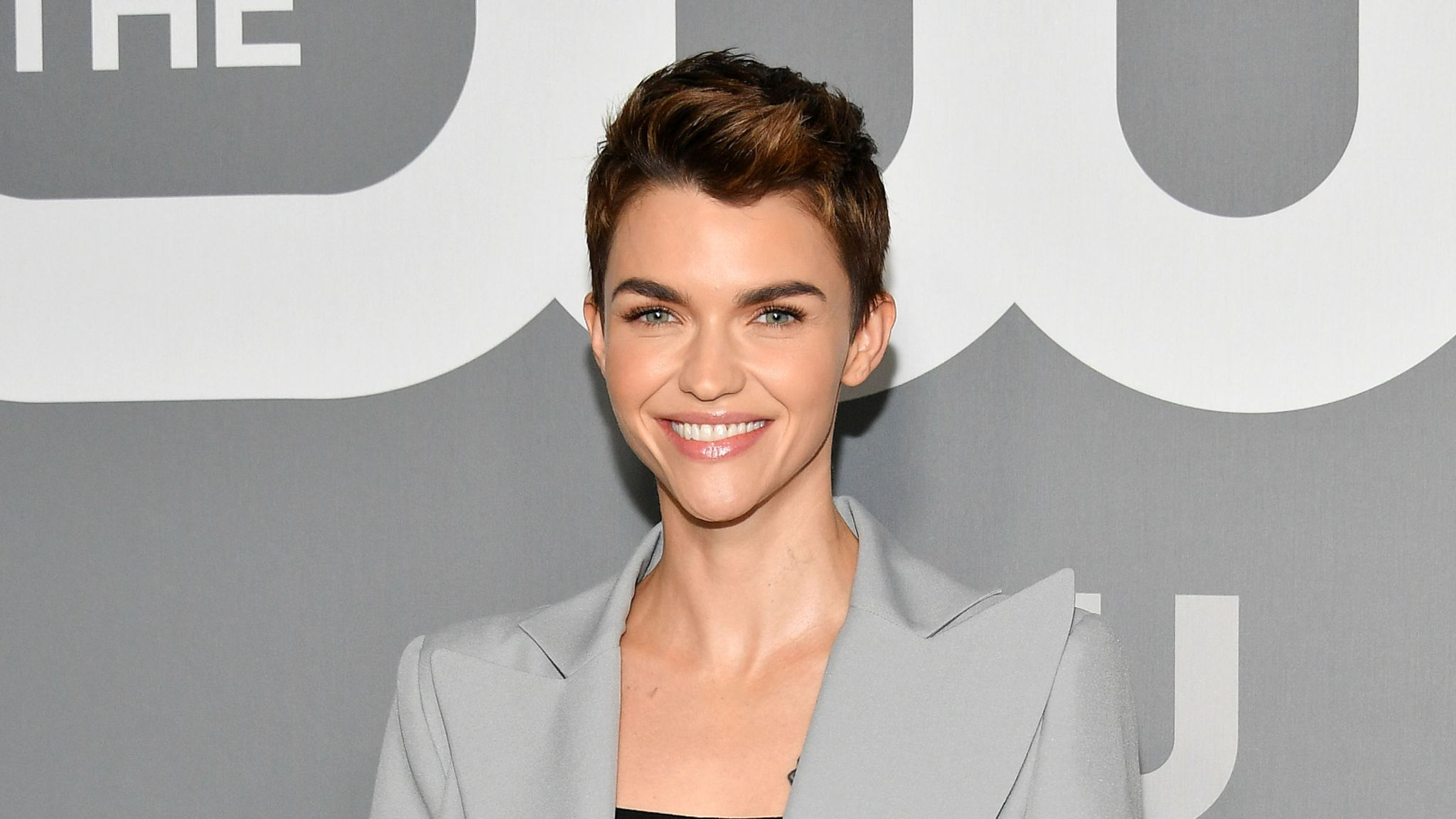 NEW YORK, NEW YORK - MAY 16: Ruby Rose attends the 2019 CW Network Upfront at New York City Center on May 16, 2019 in New York City. (Photo by Dia Dipasupil/Getty Images)