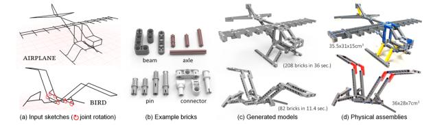 Computational Lego design